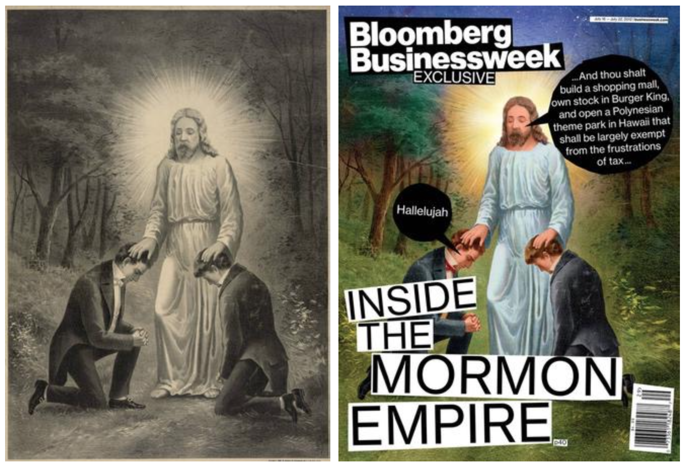 Christensen Print and Bloomberg Cover
