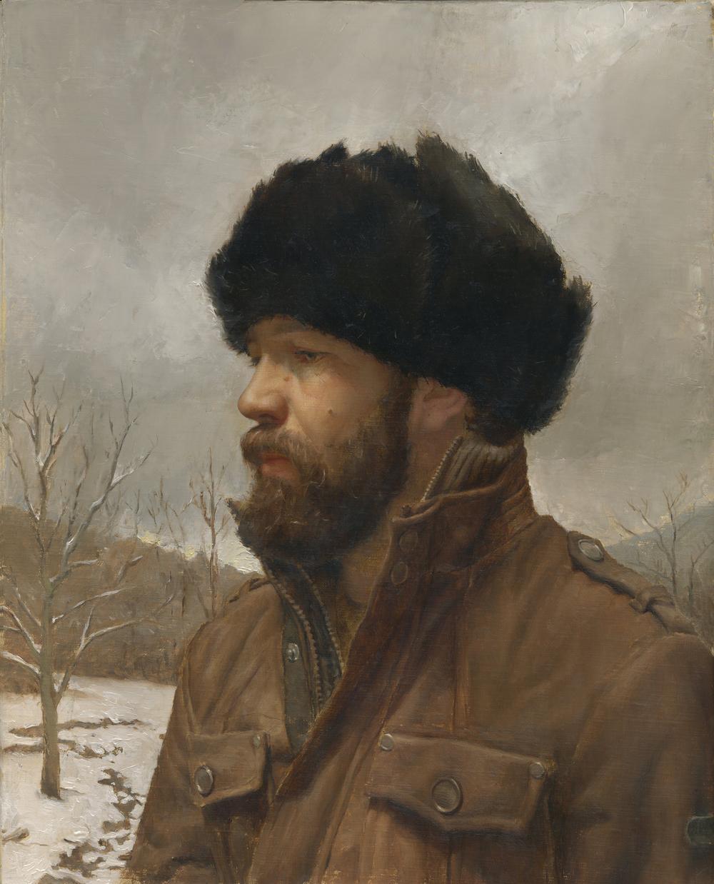 Self-Portrait+in+Fur+Hat