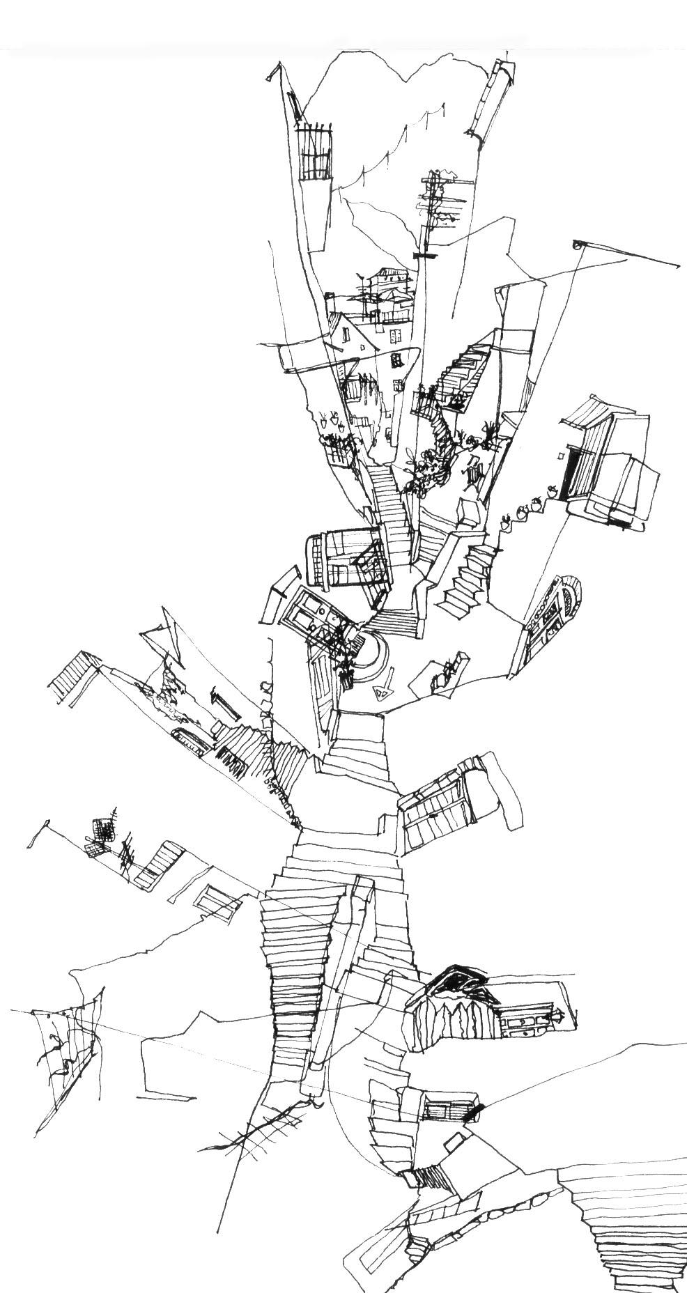 TOTC_K Sparenborg Brinton_Architectural Sketching Student_Cinque Terre Italy