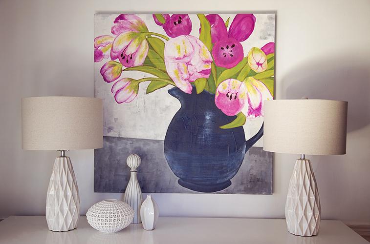 Tulip in Magenta I